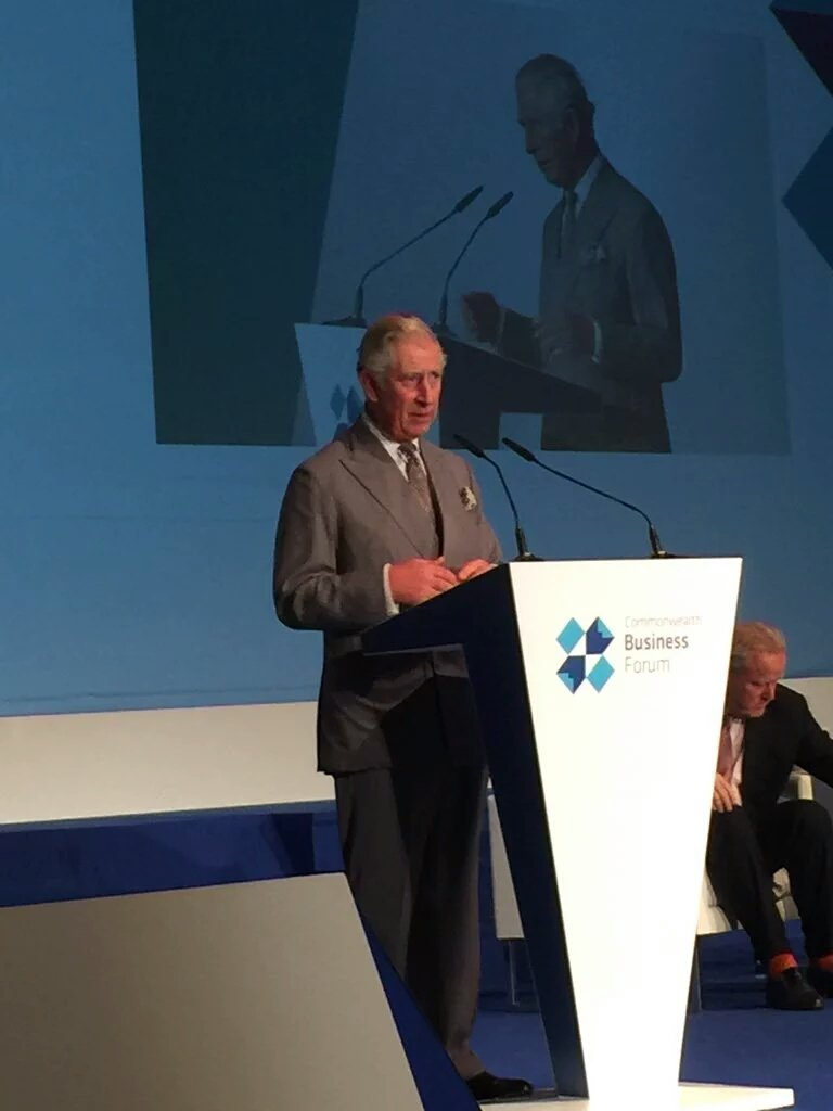 HRH the Prince of Wales closing the Commonwealth Business Forum https://t.co/6pKYvlbj0O