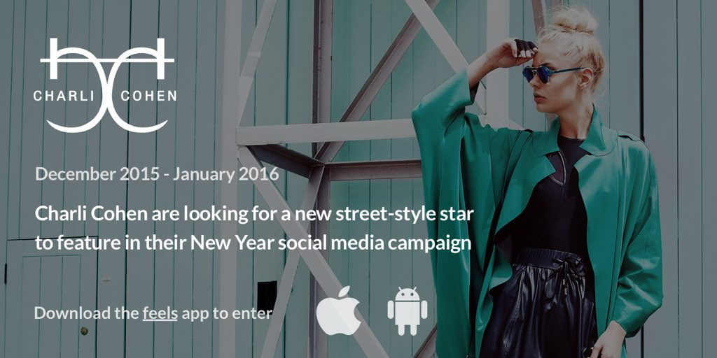 Casting call! CC have teamed up with @feels to find our new street style star. Download the Feels app to enter
