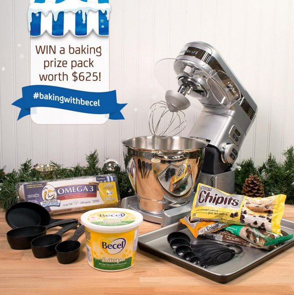Four amazing prize packs to be won! Get #BakingWithBecel for your chance to #Win https://t.co/nrDJkeZKJN  @BecelCA https://t.co/1ZXny8SuEw