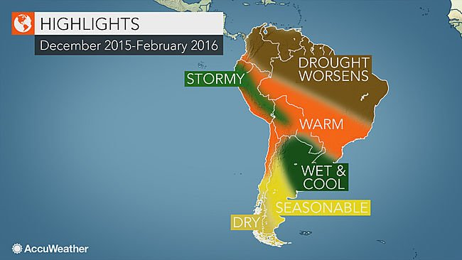 El Nino to Bring Flooding Rain to Argentina, Uruguay and Southeast Brazil https://t.co/kXQQL7LUEq https://t.co/ZLlHDeE1oO