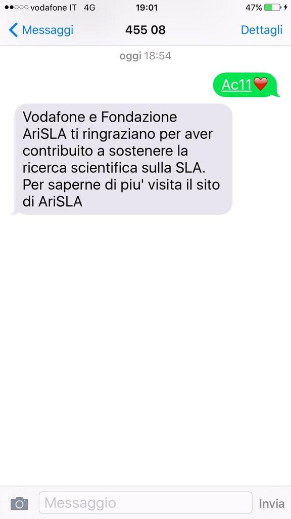 Invito accettato @FinallyMario ...contribuite tutti alla ricerca scientifica sulla SLA https://t.co/tGxLu2Q0k0