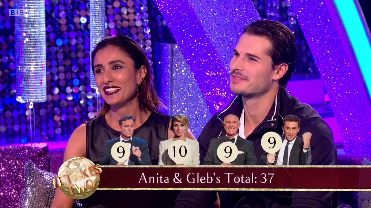 .@itsAnitaRani & @Gleb_Savchenko got their first 10 in #Blackpool last week. More 10s to come for them? #ItTakesTwo https://t.co/pkF2LR8U03
