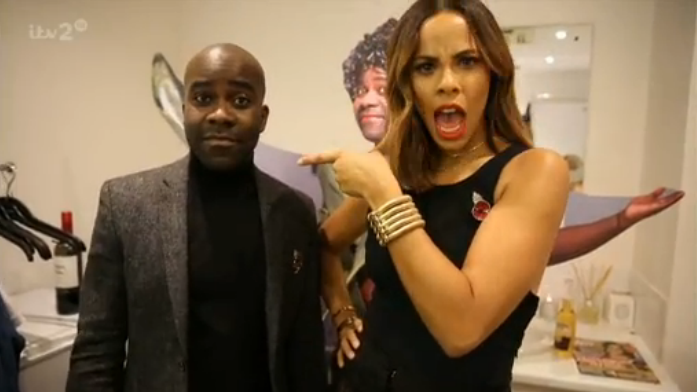 We'll never see @FleurEast's Sax in the same light @Melvinodoom and @RochelleHumes... #XtraFactor https://t.co/6DWXBurJGe