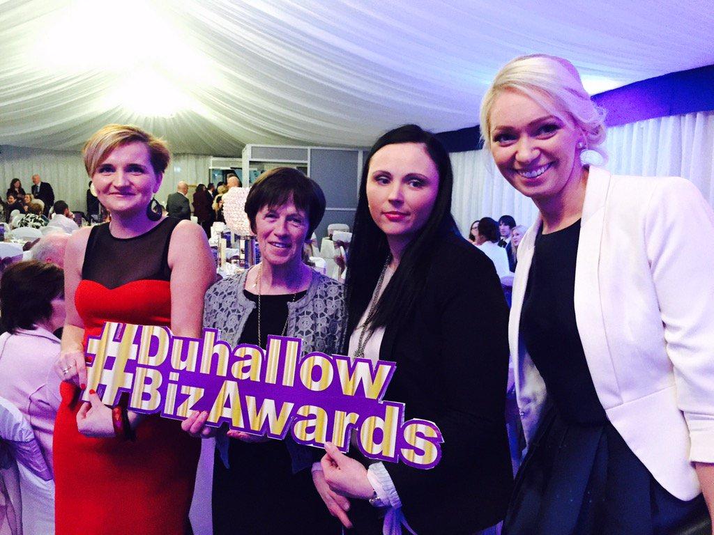 Out and about at the Duhallow business awards. @DigiPulse_ie @vialutea @mccarthykanturk #DuhallowBizAwards https://t.co/Q6u0UKAxxm