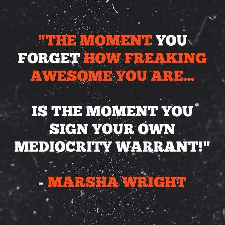YOU ARE #AWESOME!!  DON'T FORGET IT! https://t.co/6Z9BbYWfdv