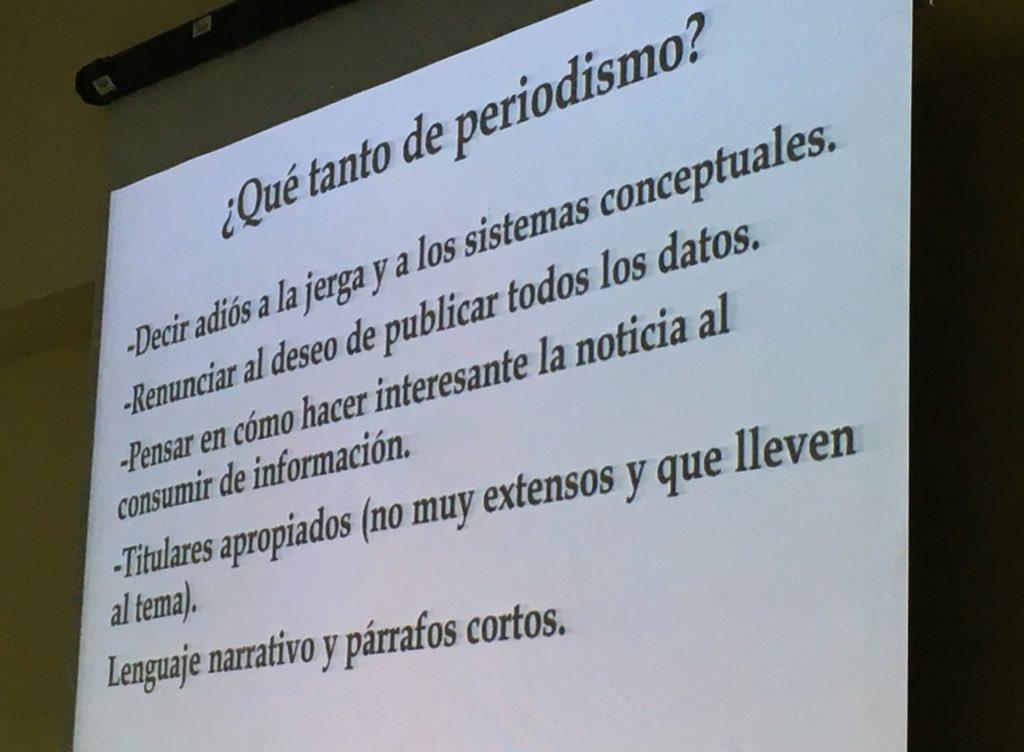 RT @blogdenotas #VidayFuturo ¿Y qué tanto de periodismo requiere el #PeriodismoCientífico? @SerapioCazana dice: https://t.co/iQz5jtityH