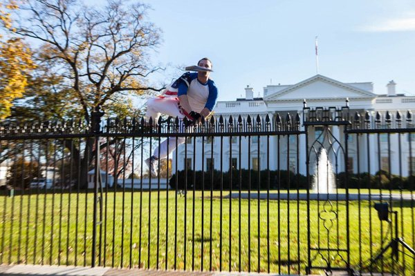 Joseph Caputo White House Fence jumper