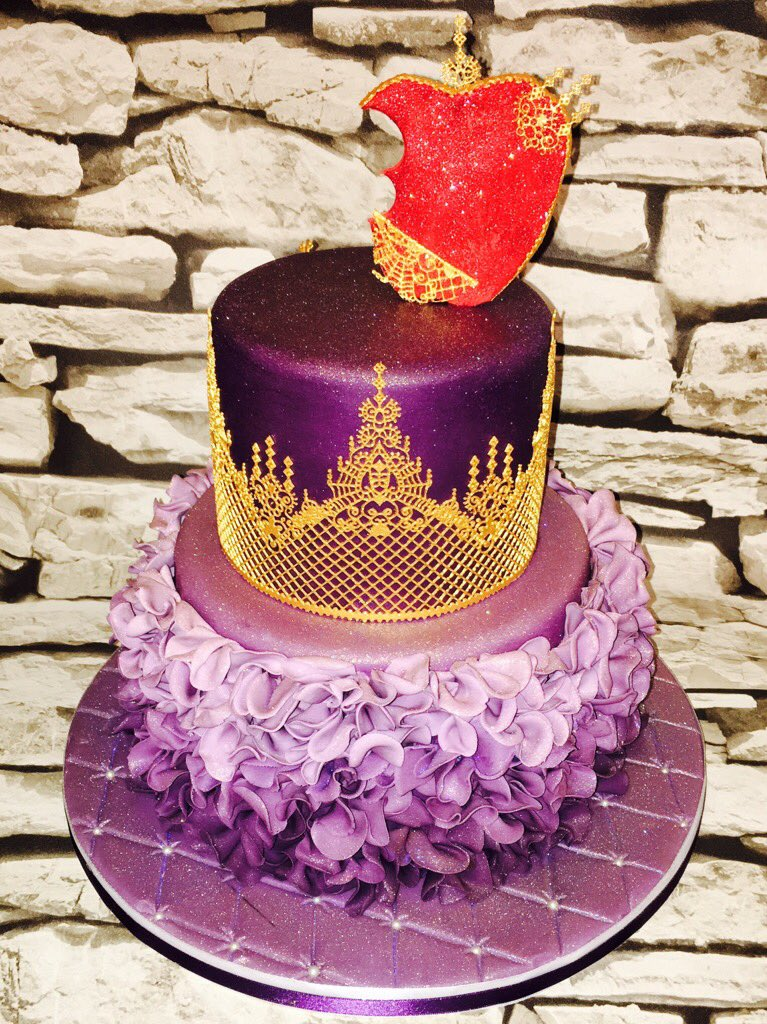 Cakealicious Cakes on Twitter Inspired by Disney Descendants