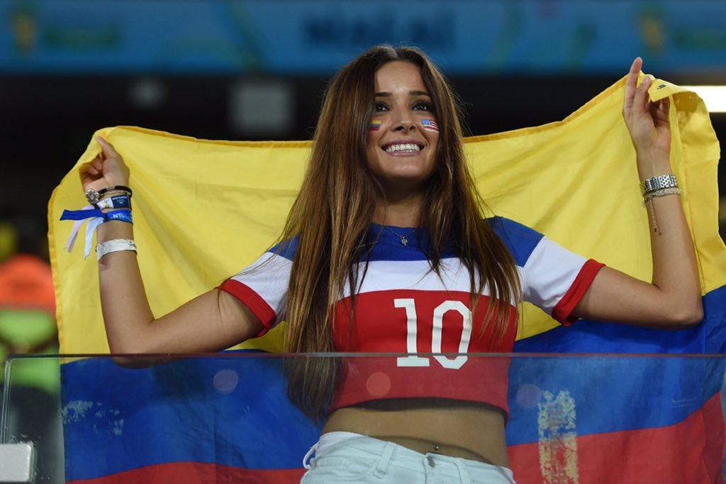 Gorgeous colombian women