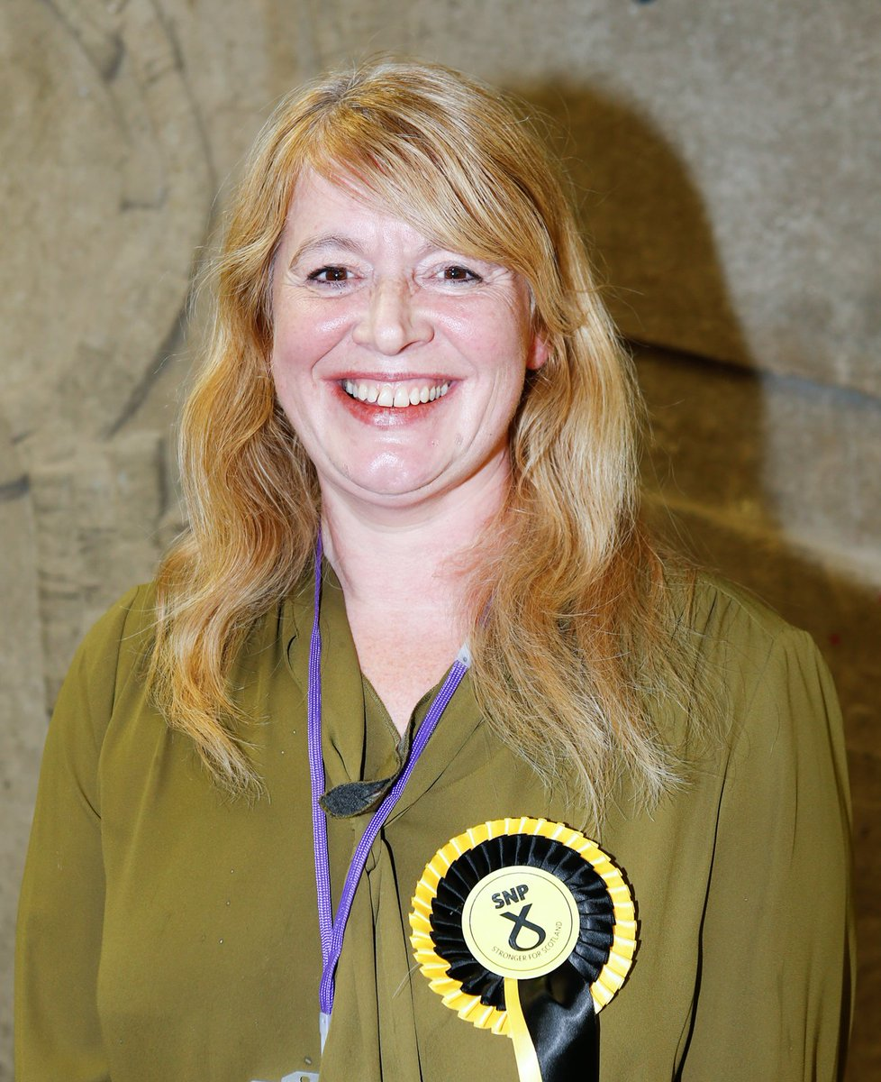 Sharon Wilson, SNP declared as the newly elected Member for Rosyth council ward with 1214 votes. #rosythbyelection https://t.co/edh84ivBOa