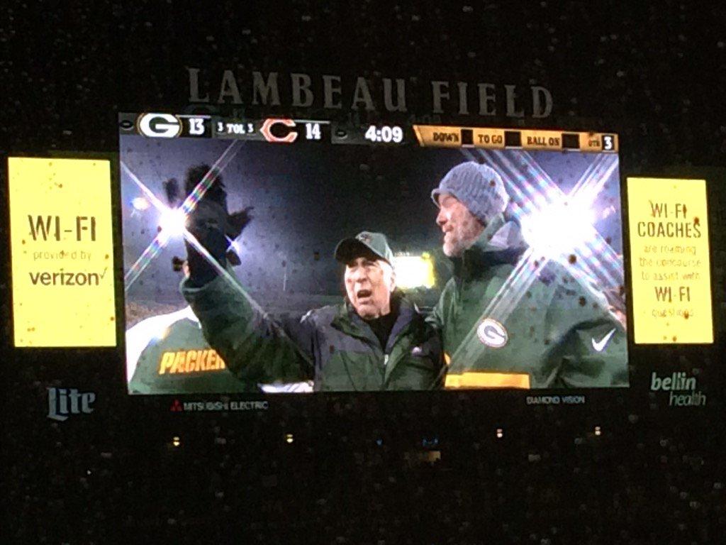 Bart Start and Brett Favre #Packers https://t.co/VPhITKnsaA