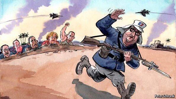 Глава МИД Франции считает, что в Сирии необходимо задействовать сухопутные войска - Цензор.НЕТ 3607