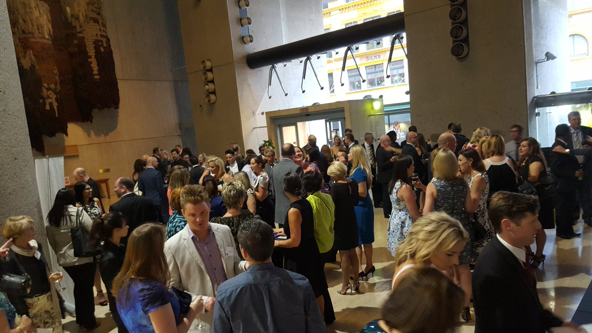 The foyer is getting full #AITDawards. It's time to network with fellow Finalsts https://t.co/XrEaLiRnag