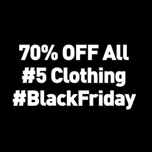 Go on then fill ya boots!! @5mag showing the love... 70% OFF on all clothing #BlackFriday 👌 https://t.co/YR0nLZgoak https://t.co/IqQqh8EzHg
