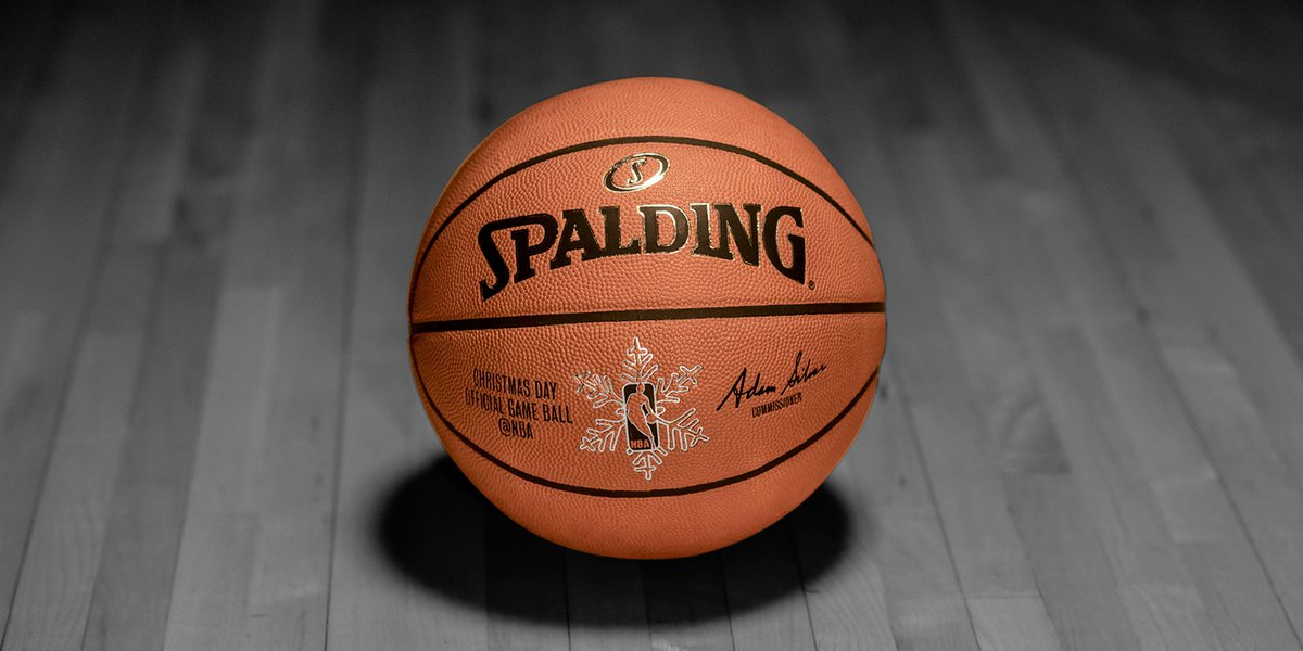 "Spalding on Twitter: ""First ever NBA Christmas Day Official Game Ball #TrueToTheGame #Sweeps https://t.co/fYuO4vQpeW"""