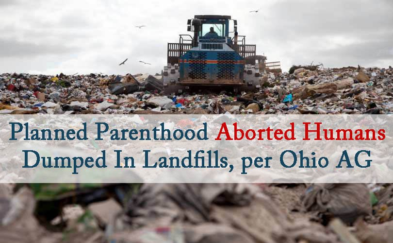 Ohio Planned Parenthood steam-cooked fetuses