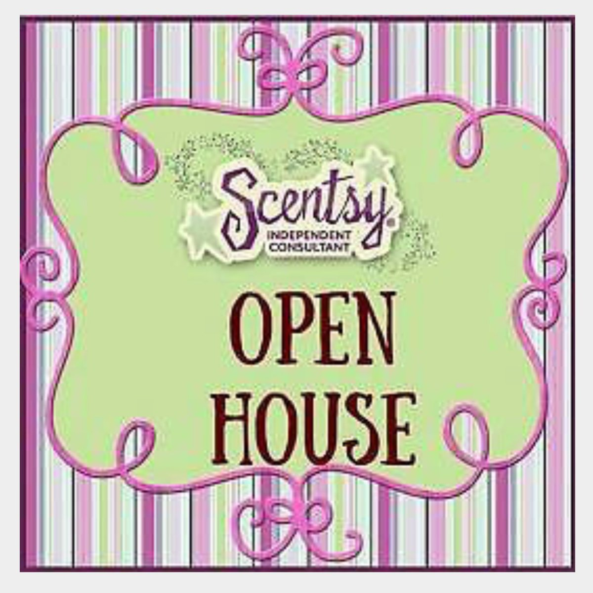 Debi Mangan on Twitter Scentsy Open house Come by or call 805 – Scentsy Party Invitations