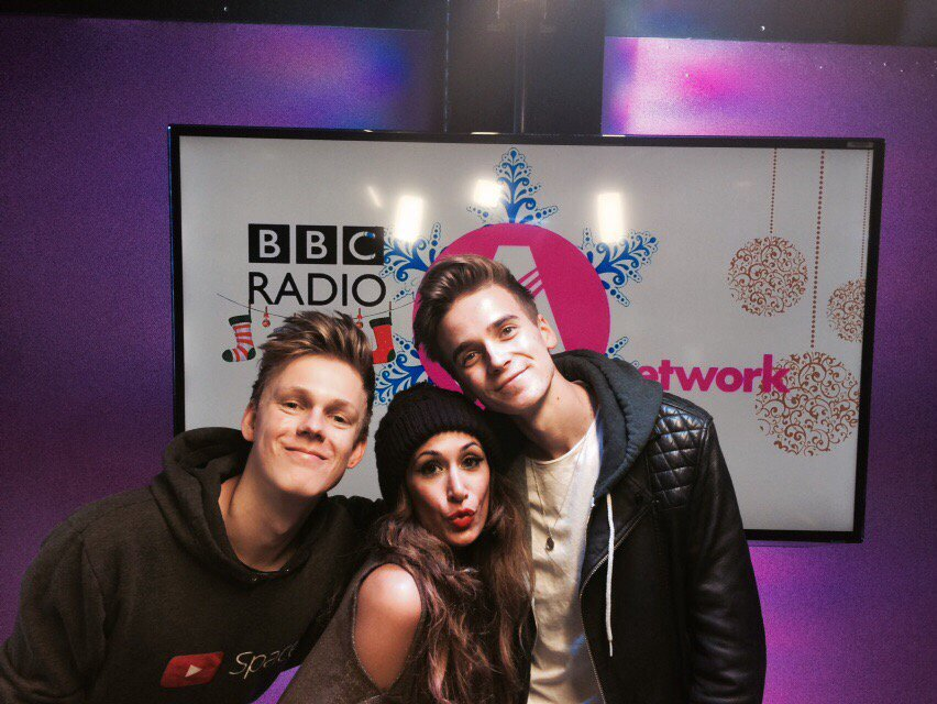 Funny fellas, megastar you tubers @Joe_Sugg and @Caspar_Lee join me tommorow @bbcasiannetwork 1pm! https://t.co/mmS7iC6mtJ
