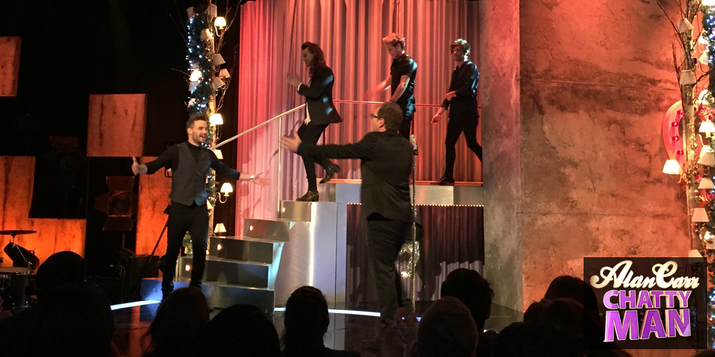 ARGHHHHHHHH!!! IT'S @onedirection!!! #CHATTYMAN #1DonChattyMan https://t.co/gmQ409PAkR