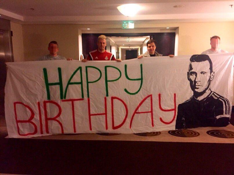 С днем рождения, Ян!