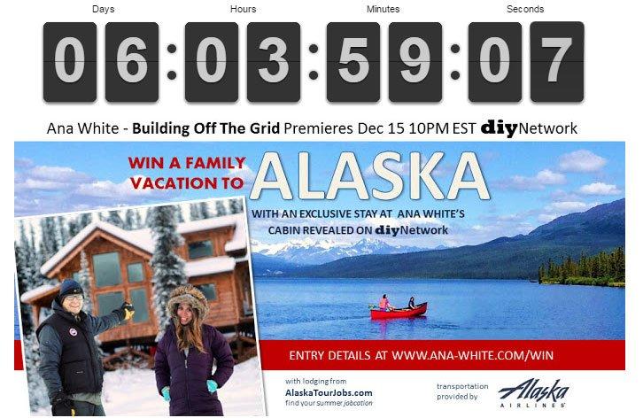 Just 6 day left!  Entered Alaska Giveaway today? Retweet -->https://t.co/xR5Q3kBUoC to validate. #BuildingOfftheGrid https://t.co/e1VvS0SpkL
