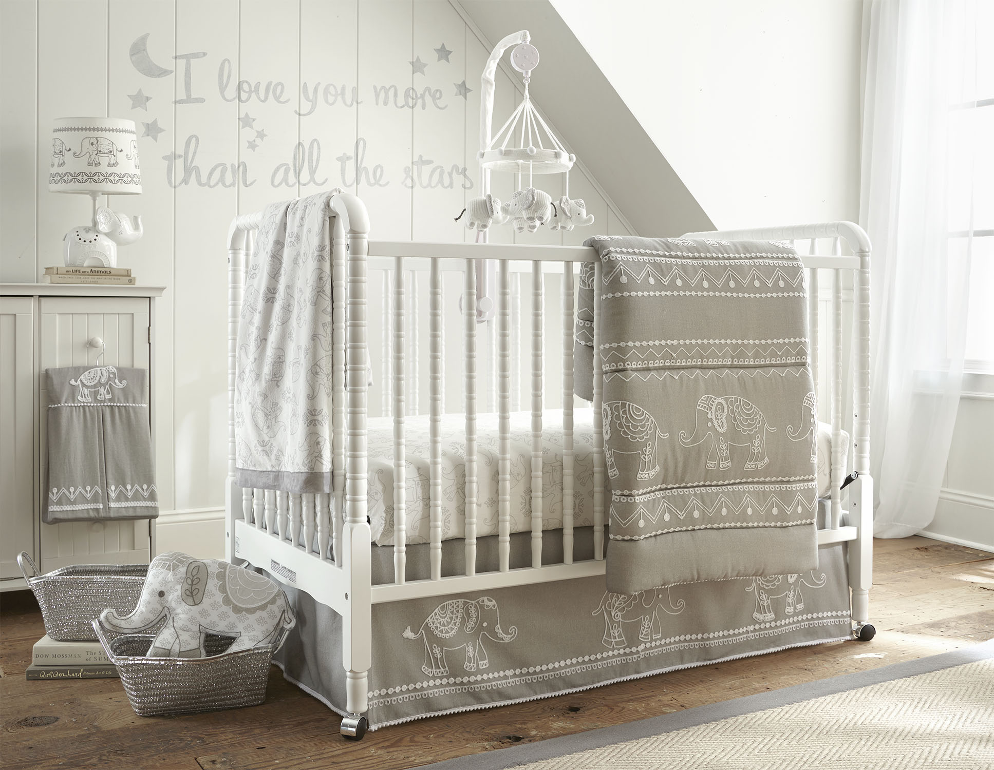 Mobile for crib babies r us - Levtex Baby On Twitter Check Out Our Baby Ely Collection Exclusively At Babiesrus Baby Christmasgifts Bedding Cute Decor Elephant