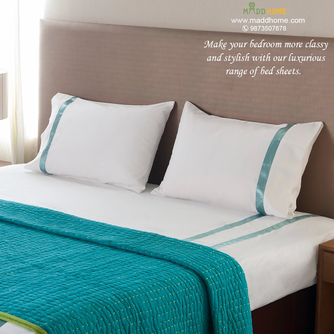 maddhome for best pick of quality bed sheet sets with