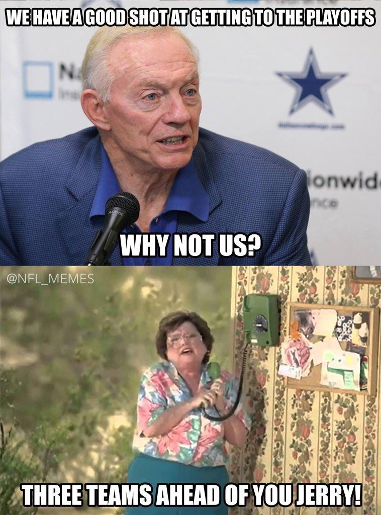 Nfl Memes On Twitter Quot Quot Only 3 Quot Cowboys Fans Https T