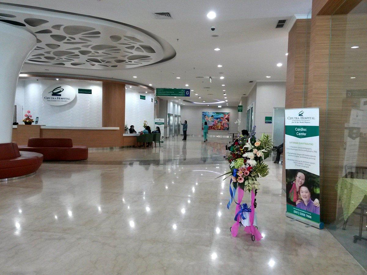 Hasil gambar untuk lobby ciputra hospital