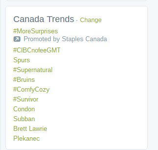 Oh! Check it out! #CIBCnofeeGMT trending at the top in Canada!! @cibc @cammipham @RossanaWyatt @themuna https://t.co/YUpoClbjyl