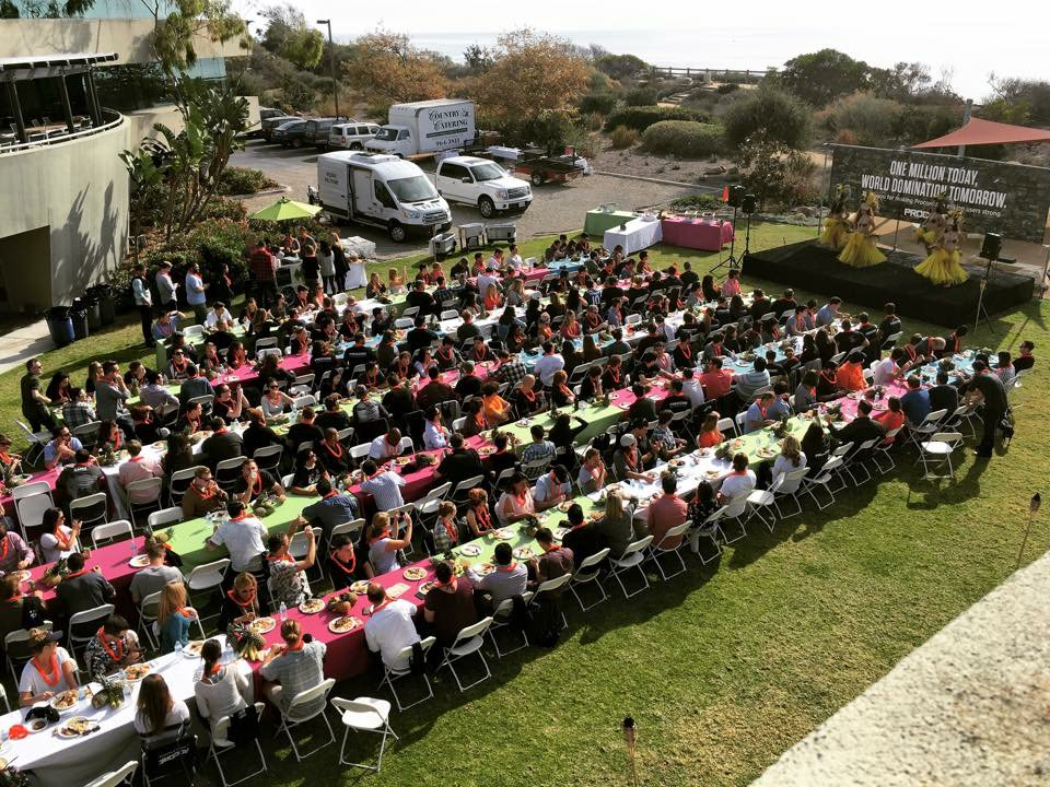 We had a luau at our company lunch to celebrate having 1 million users.   Want to join? @ProcoreJobs https://t.co/cSP6x5Gj0W
