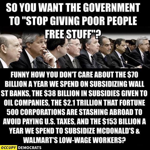 """The GOP's response: """"Look! Muslims!"""" Corporations have restructured the US for their benefit. #subsidies #notaxes https://t.co/e2HmqGDdWC"""