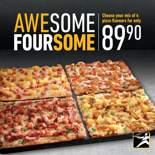 Debonairs pizza menu