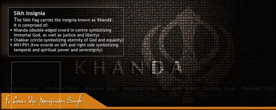 Manjinder Singh On Twitter Facebook Cover Khanda Sikh Symbol