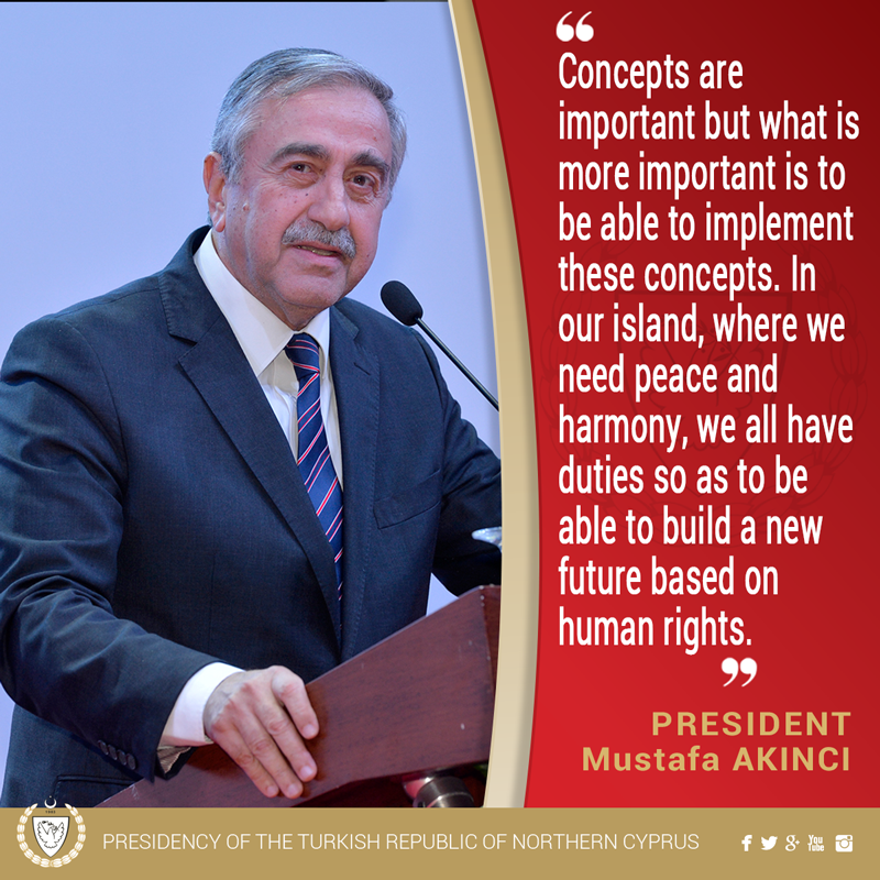 """President AKINCI: """"Concepts are important but what is more important is to be able to implement these concepts."""" https://t.co/ANH64dK5O8"""