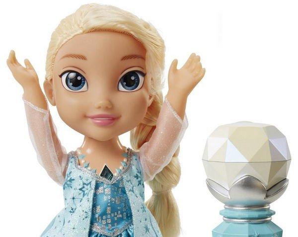 кукла дисней эльза холодное сердце принцессы дисней поющая с микрофоном