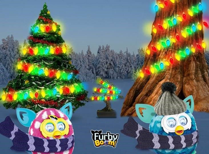 #FurbyBoom ya tiene su árbol de Navidad! Parece que se ha pasado un poco con las luces ¿Tú ya tienes tu árbol listo? https://t.co/MDYCzHAj6P