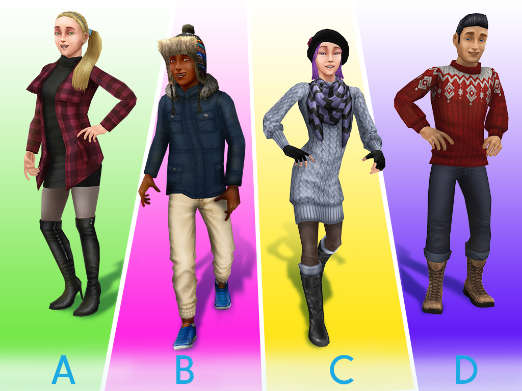 The Sims Freeplay On Twitter Which Of These Winter Warmers Is Your Fave Https T Co Dvgchygpp5