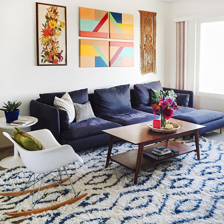 """rugs usa on twitter: """"modern cozy cool. photo by ariellevey with"""
