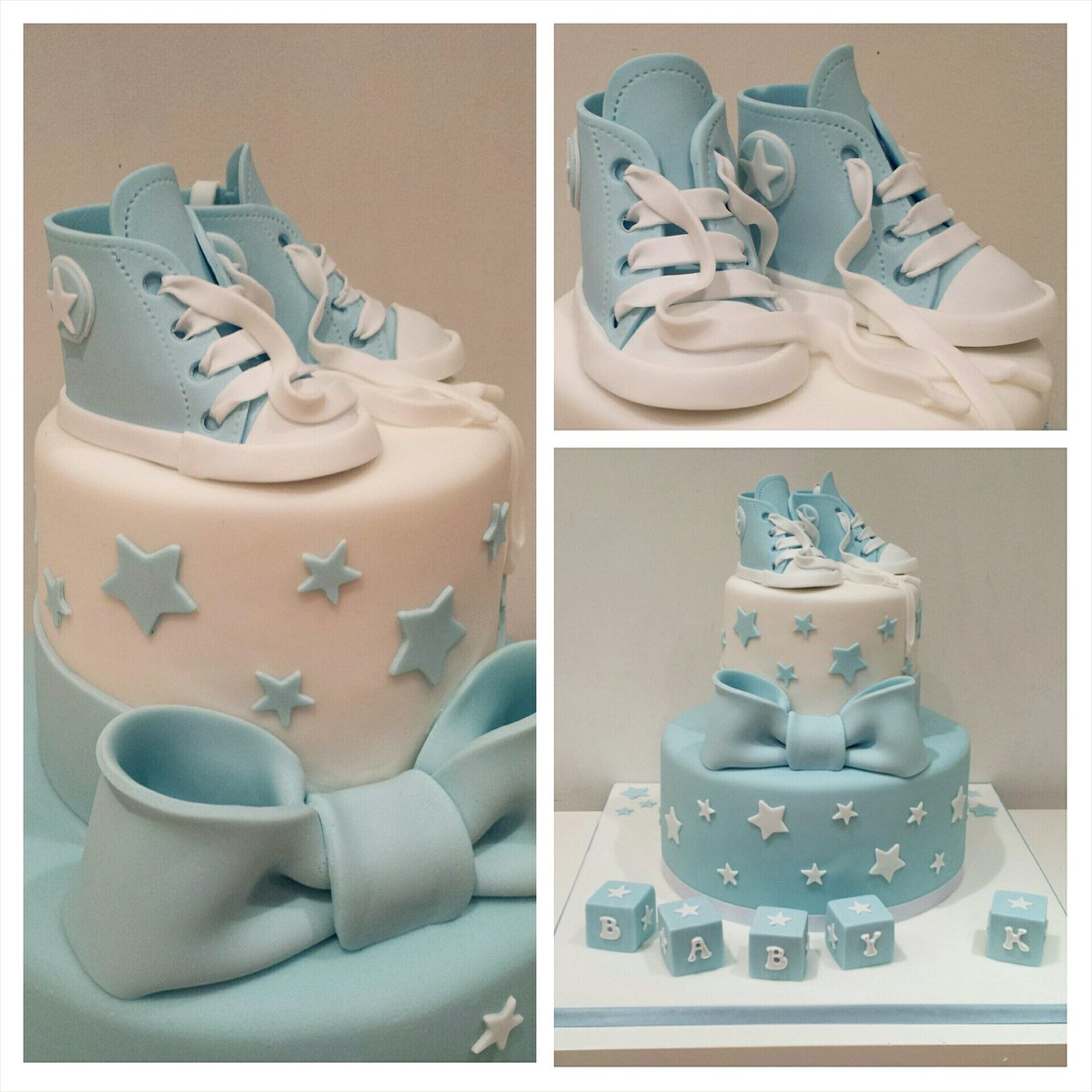 "constantinecakes on twitter ""converse booties baby shower cake, Baby shower invitation"