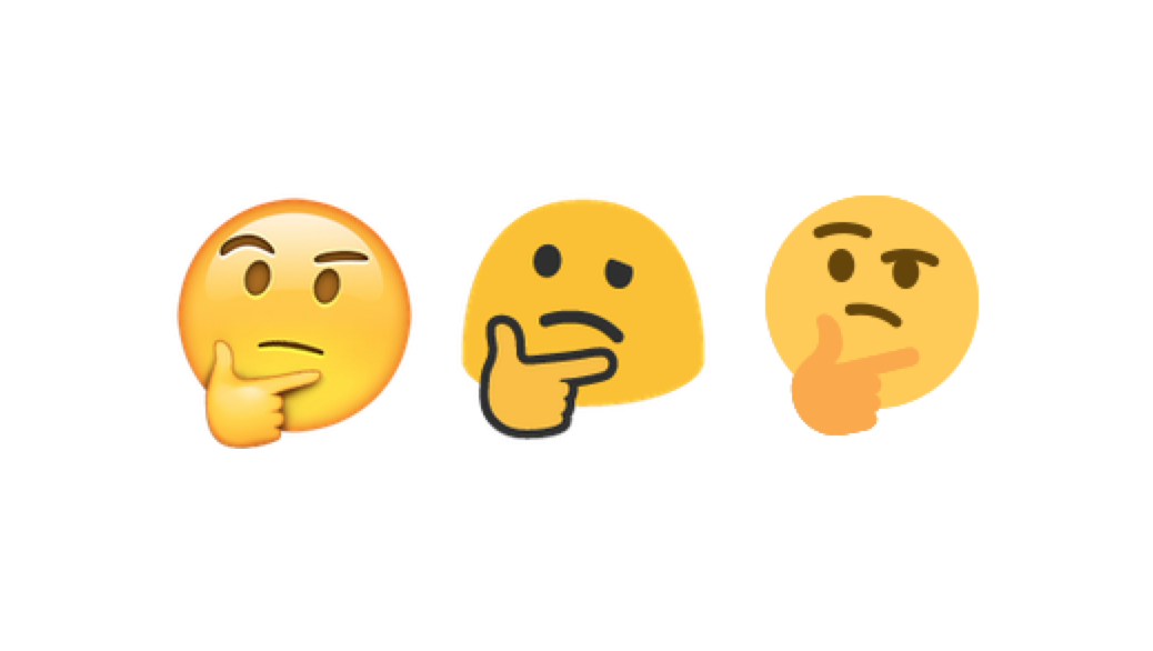 emojipedia on twitter thinking face emoji is now supported
