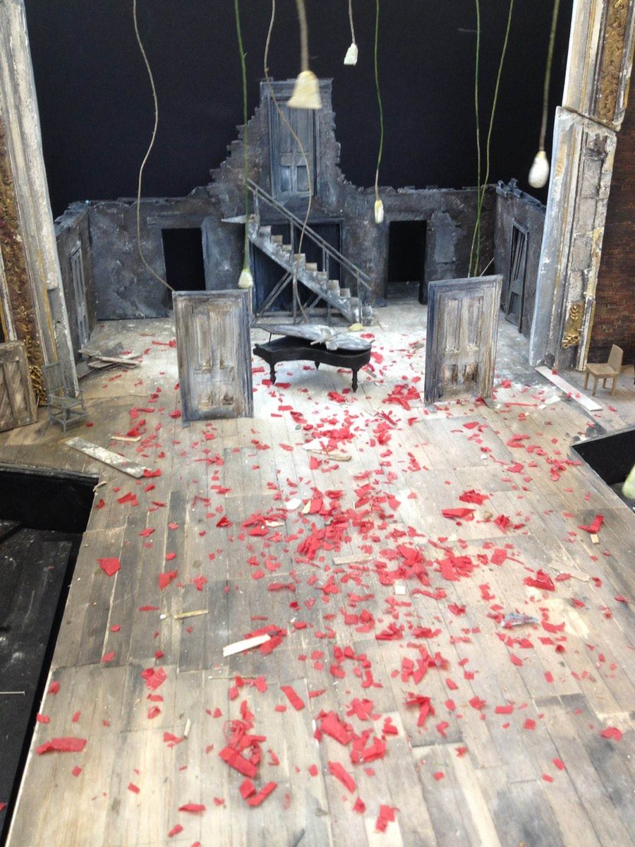 Yesterday we saw the set design for #Dream2016 by @tompiperdesign Here's a sneaky peek from the set model box.... https://t.co/hcykolUOi0