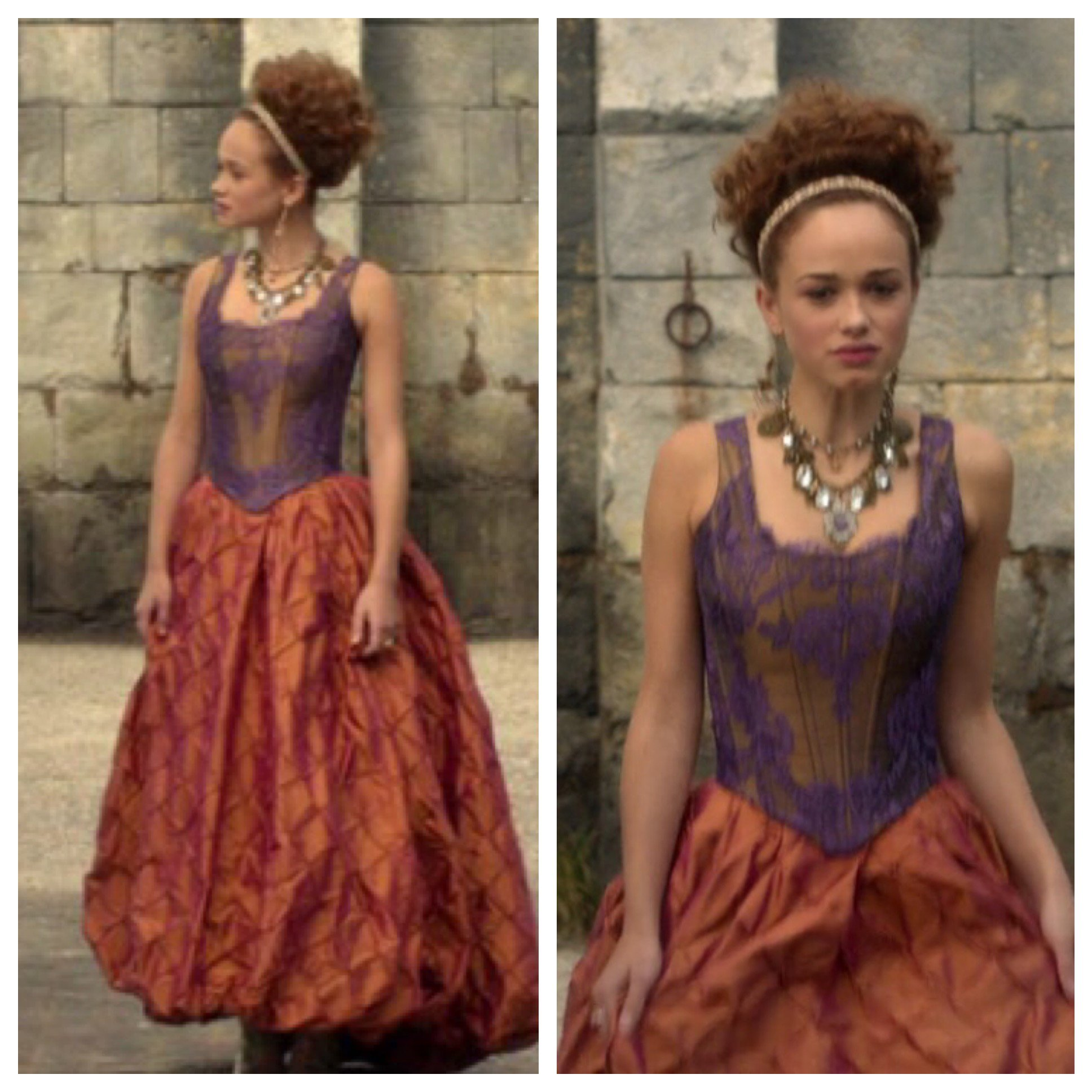 I could totally pull this off as a wedding dress right? #Reignfashion @SqueezyKez https://t.co/qqhliNm3hC