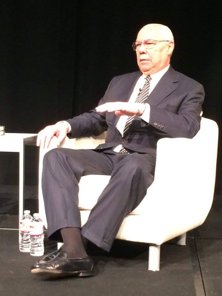 So inspired to hear from General Powell today! #ccbaleads https://t.co/BYchBfzekC