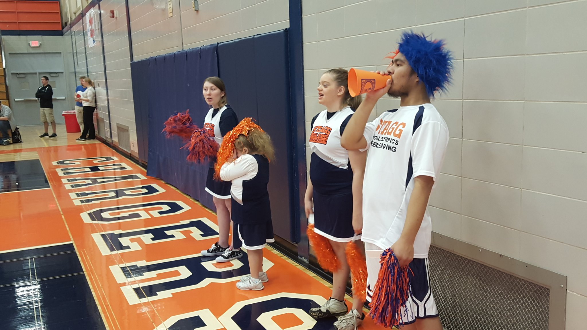 Stagg High School On Twitter Quot Exciting Day At Stagg Hosting Special Olympics Bball Game Go