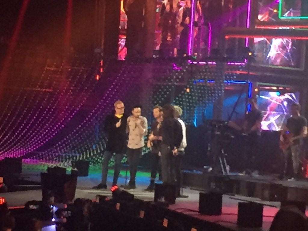 @onedirection on stage at the #BBCMusicAwards