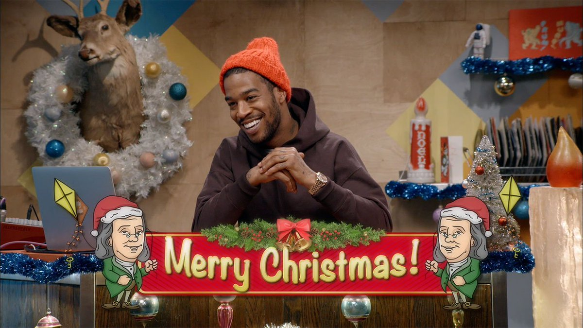 Just your typical Merry Christmas from @KidCudi & Ben Franklin. More traditional X-mas fun tonight at 11P on @IFC! https://t.co/l2N5HP7qi2