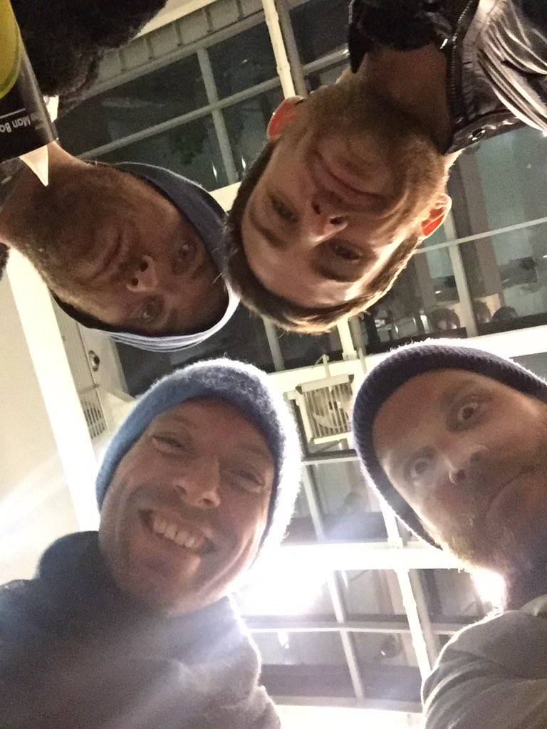 Replying to @coldplay: Ciao italia!