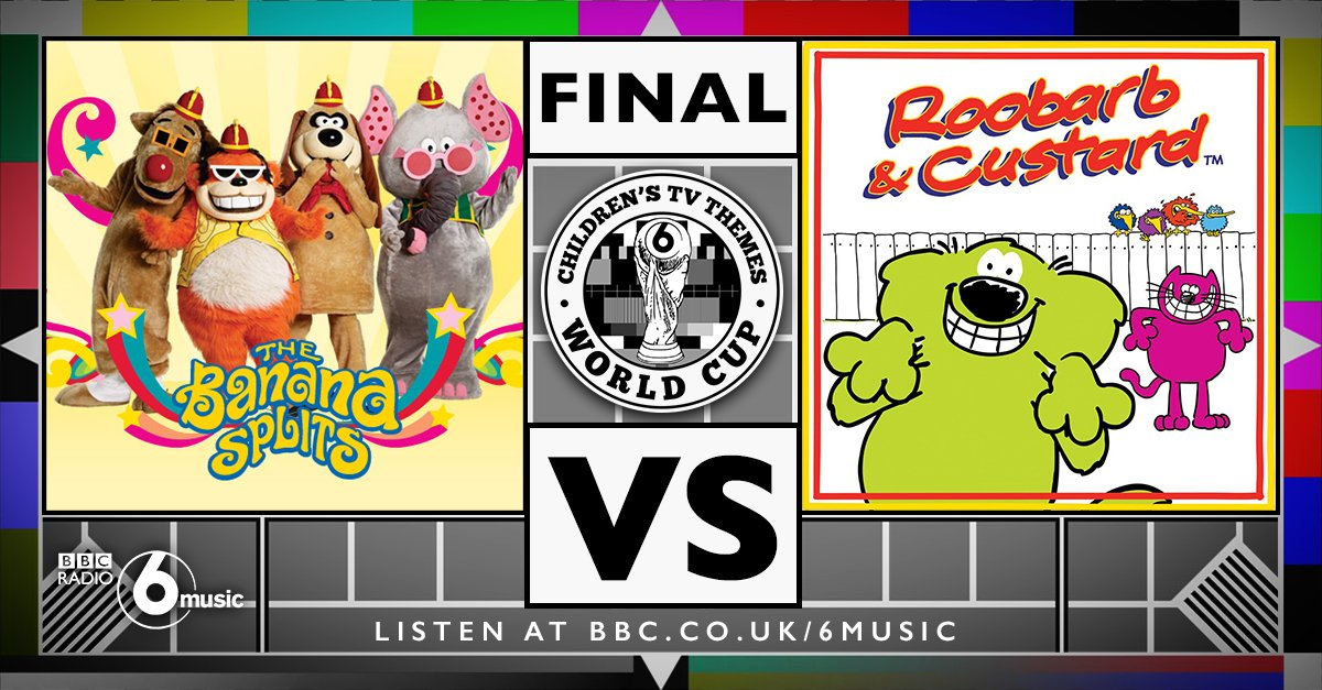 Results are in and these are the  #ChildrensTVThemesWorldCup FINALISTS. Retweet for BANANA SPLITS. Like for ROOBARB https://t.co/uKxn3XTBwZ
