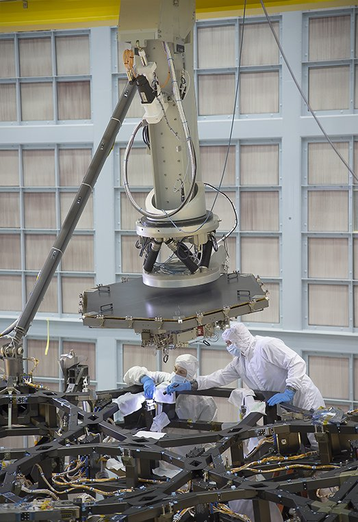 Did you know @NASAWebbTelescp's mirror is being assembled now @NASAGoddard? https://t.co/sE68hMu27I #MirrorSeason https://t.co/W9SuCVC3yK